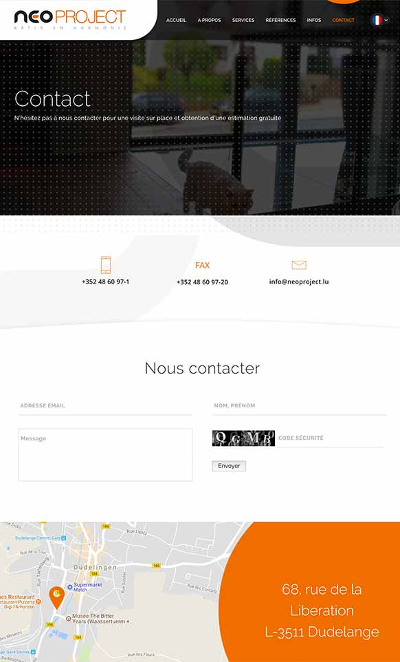 Construction company Neoproject