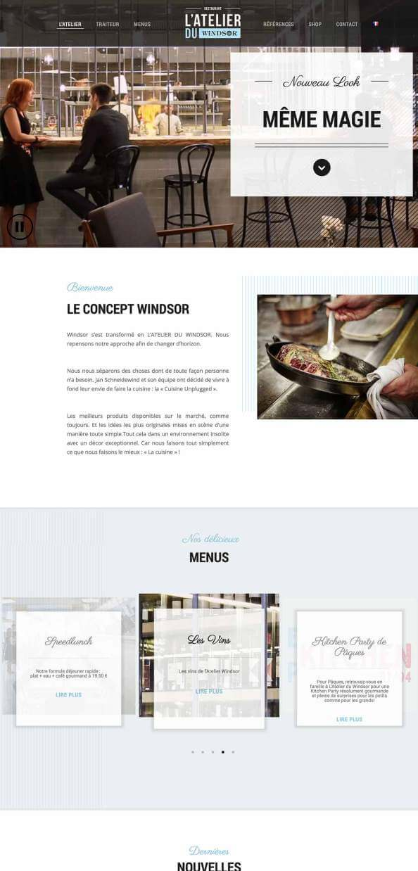 Restaurant Atelier du Windsor
