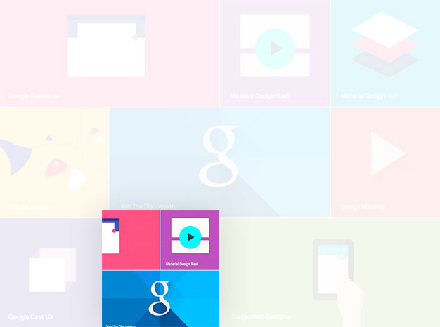 Is Google's material design providing an alternative to flat design when it comes to designing websites?